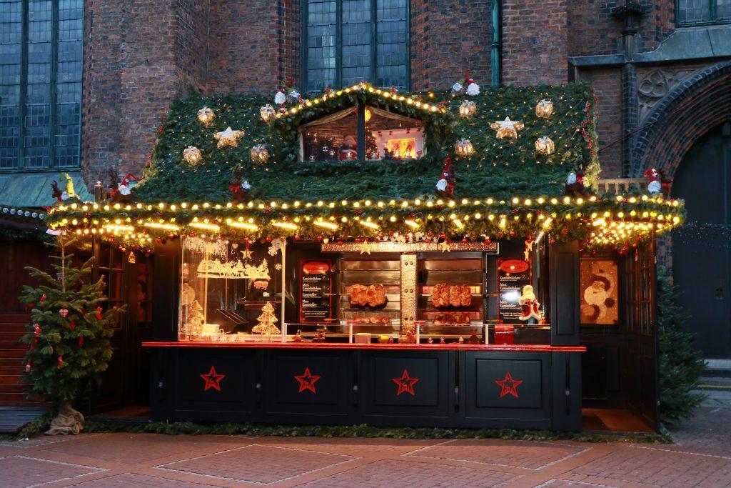 Weihnachtsmarkt Hannover Houghton Spießbraten